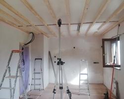 Avant installation du plafond - Pro Déco Cuisine - Erstein