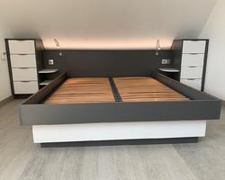 Tête de lit et Table de nuit - Pro Déco - Erstein